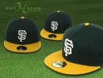 Green and gold Giants cap